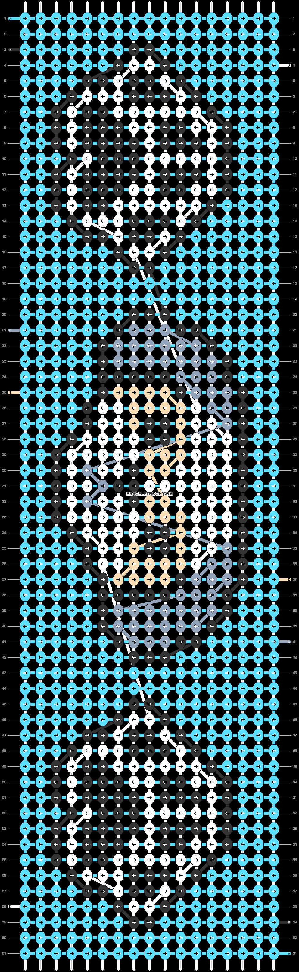 Alpha pattern #84318 pattern