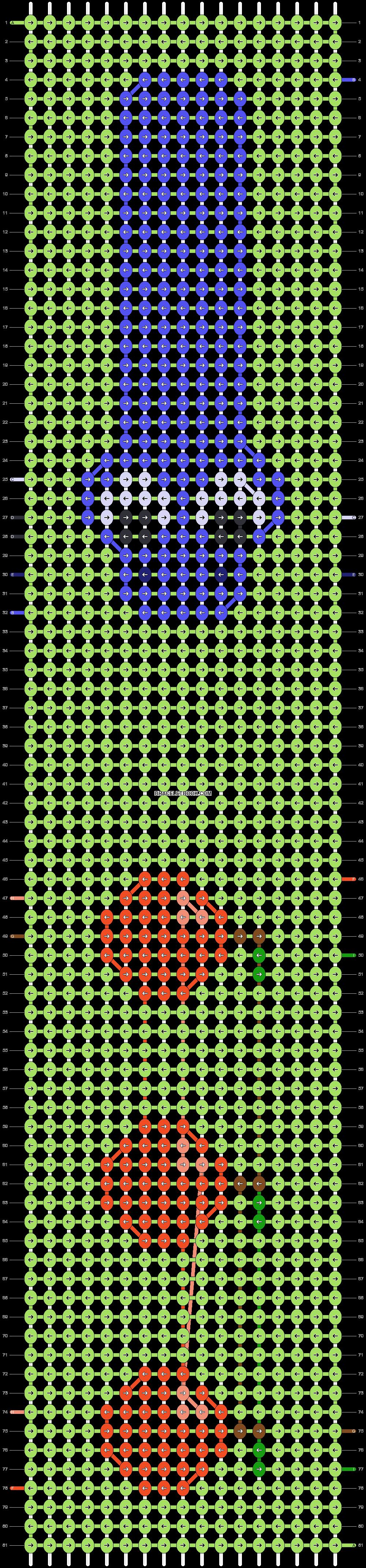 Alpha pattern #84325 pattern