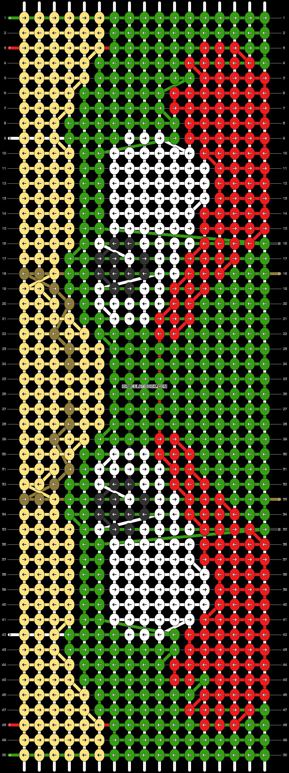 Alpha pattern #84350 pattern