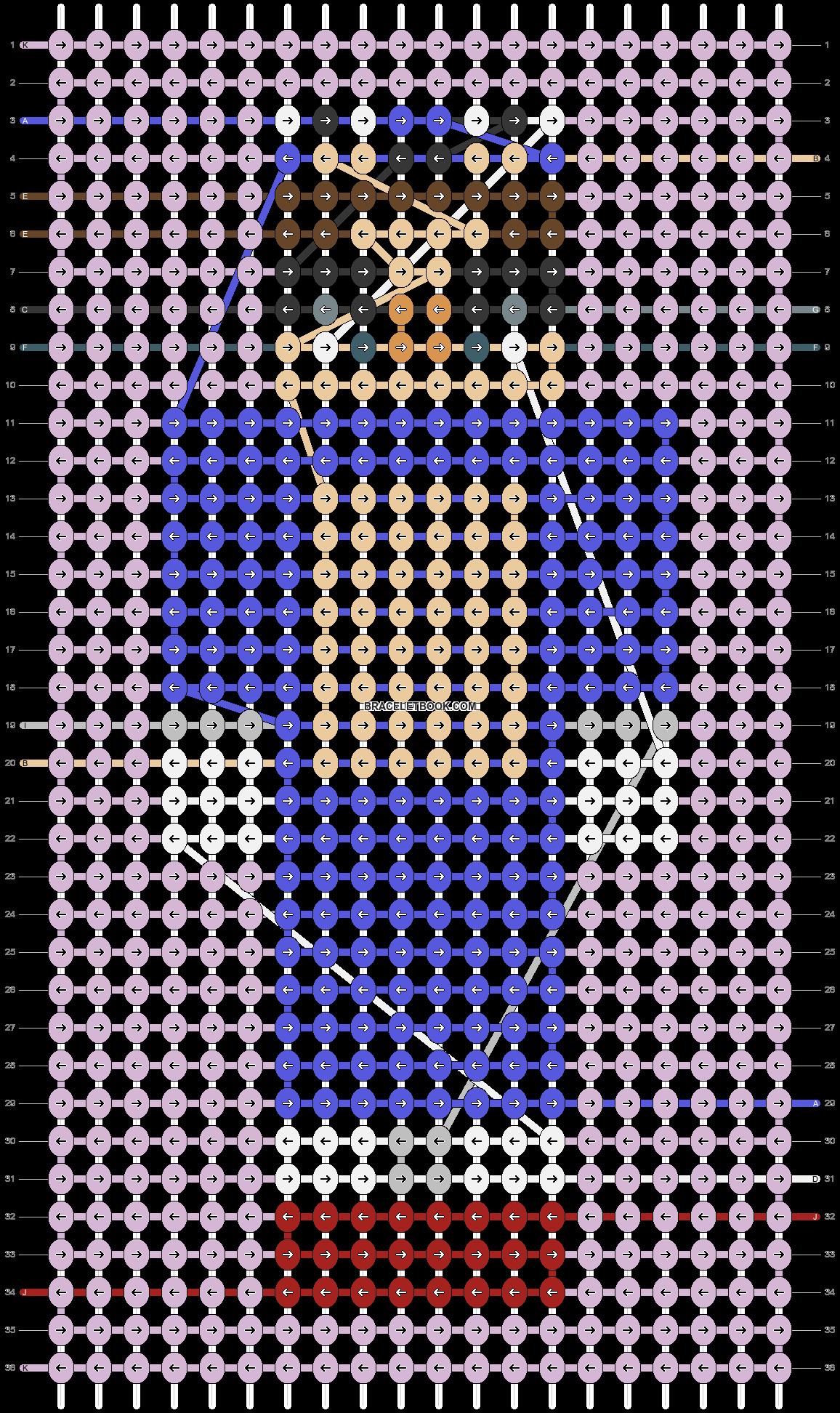 Alpha pattern #84352 pattern