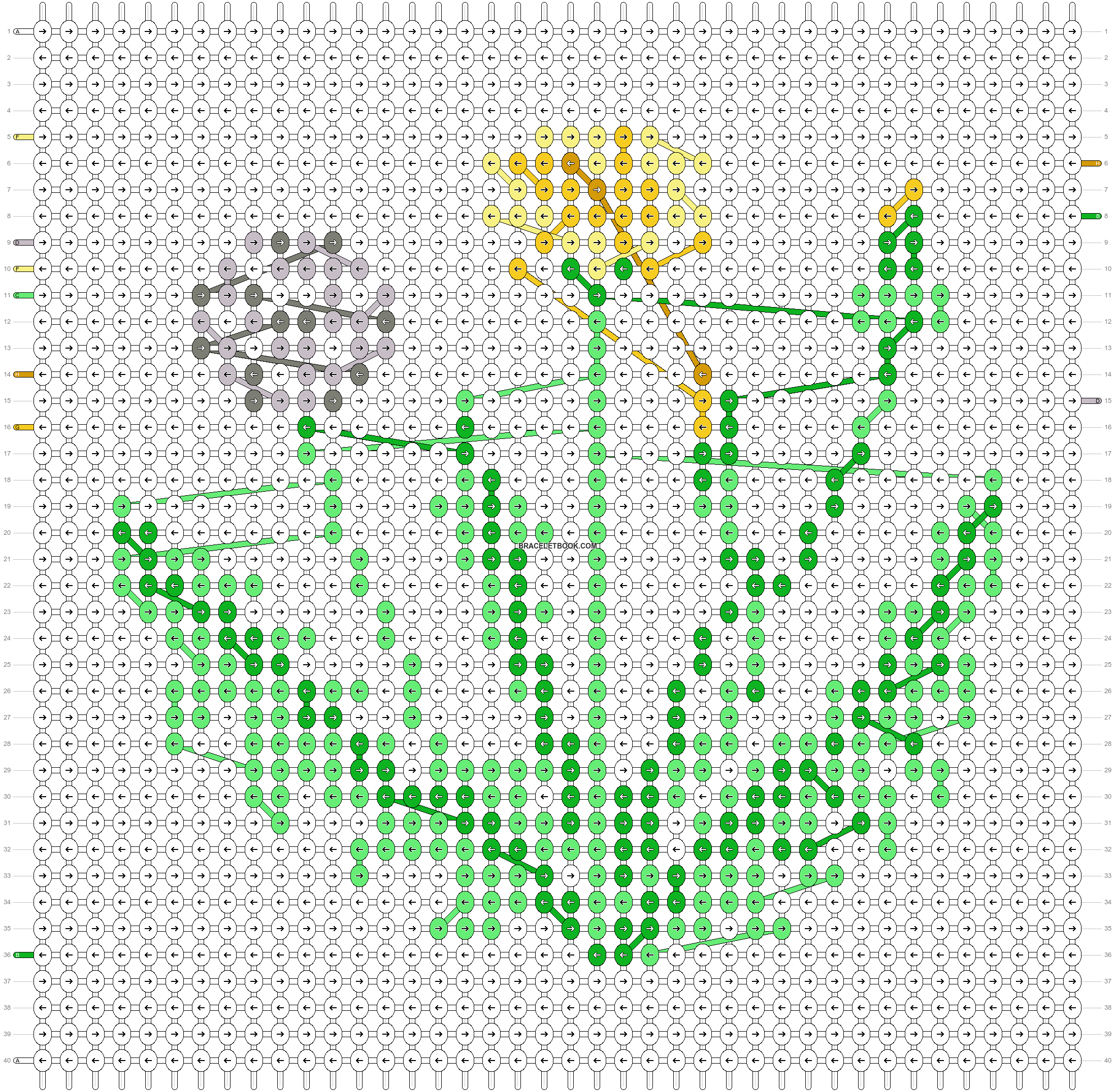 Alpha pattern #84375 pattern