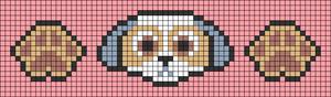 Alpha pattern #84377