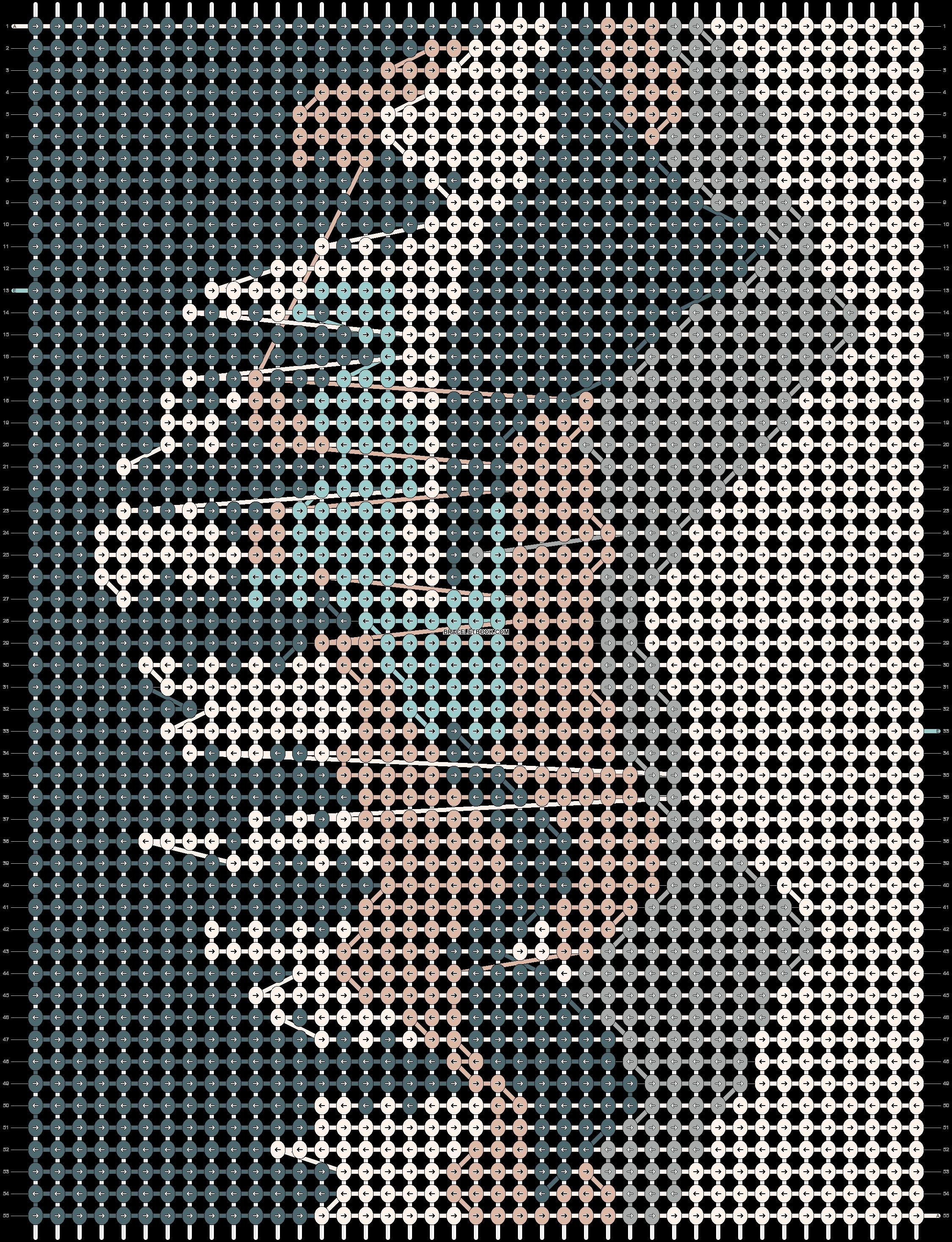 Alpha pattern #84416 pattern