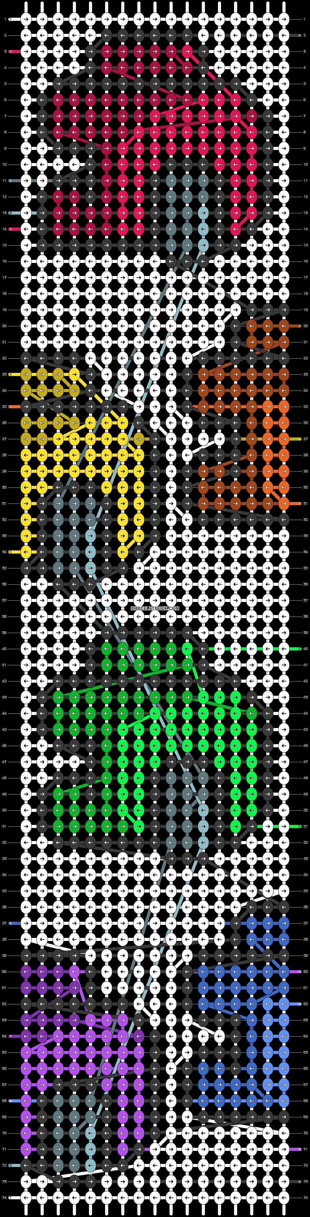 Alpha pattern #84422 pattern