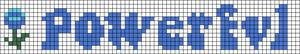 Alpha pattern #84423