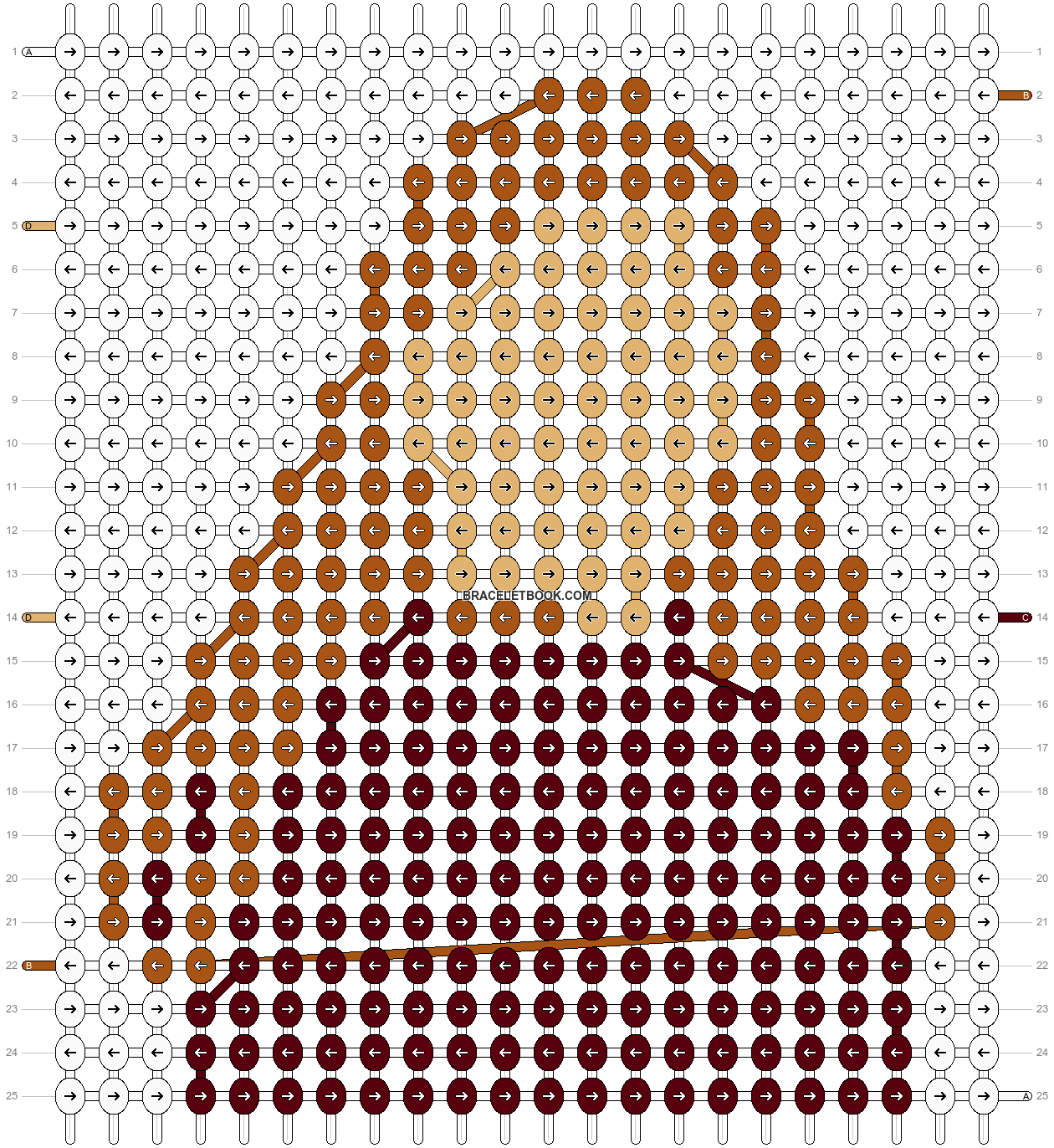 Alpha pattern #84443 pattern