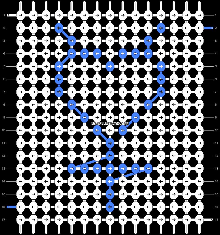 Alpha pattern #84470 pattern