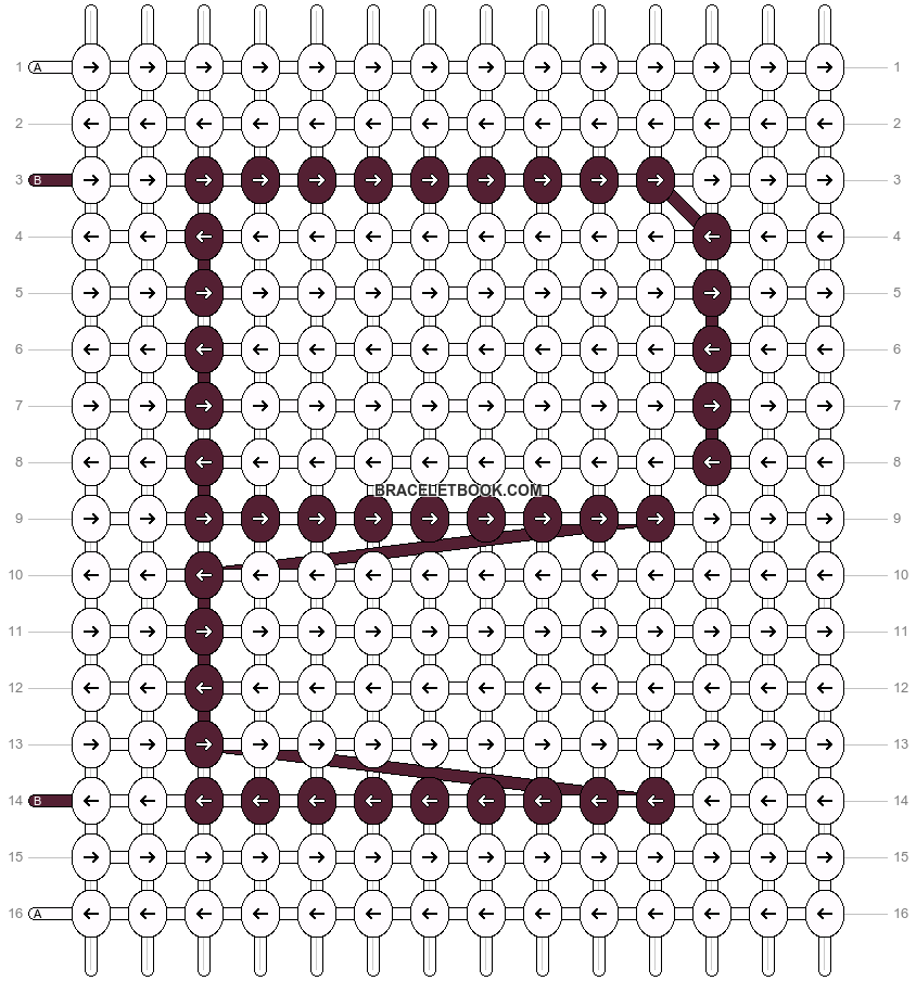 Alpha pattern #84472 pattern