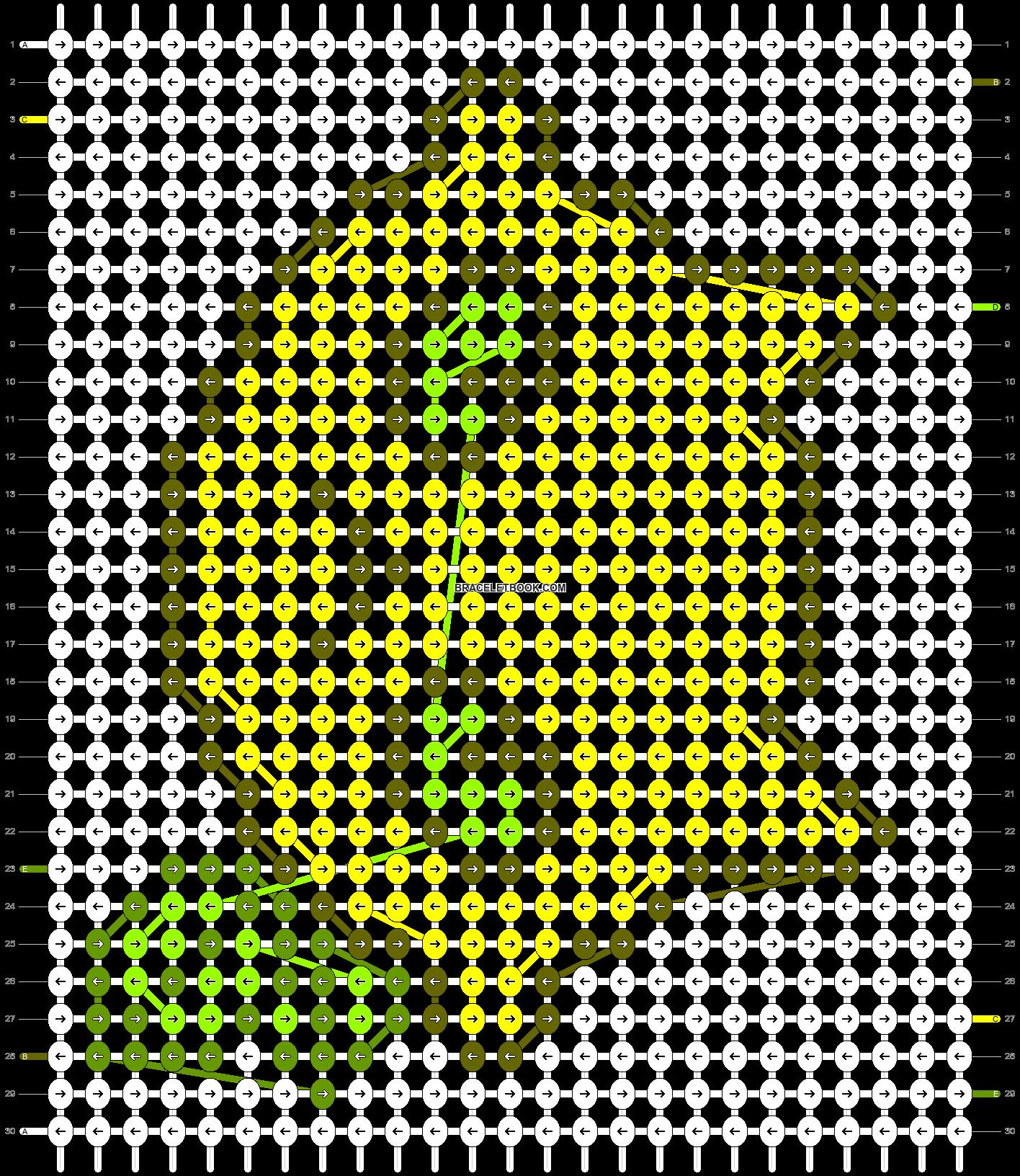 Alpha pattern #84520 pattern