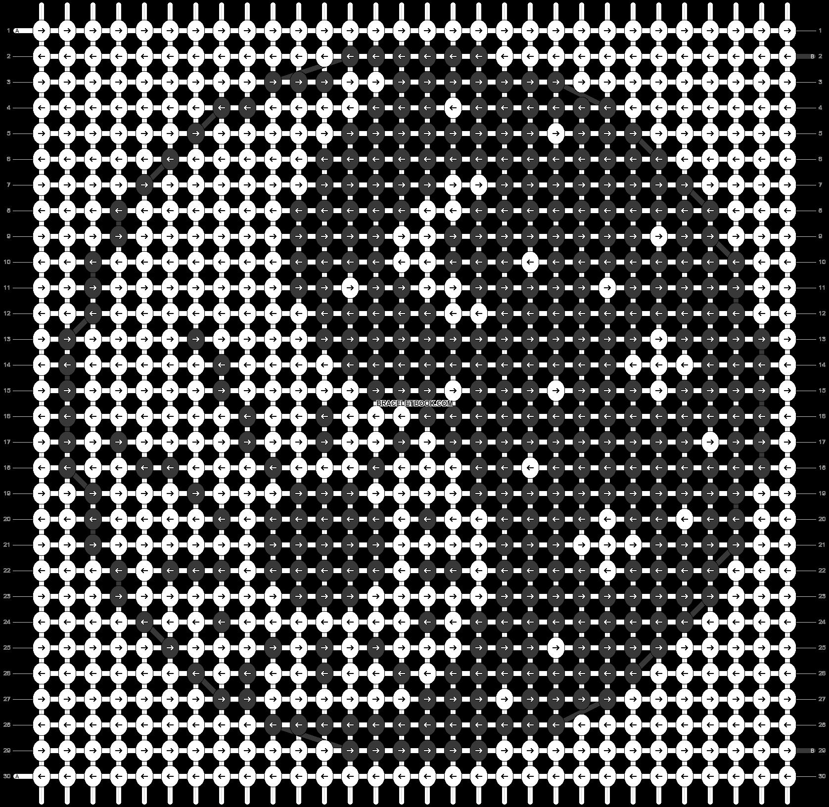 Alpha pattern #84535 pattern
