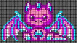 Alpha pattern #84598