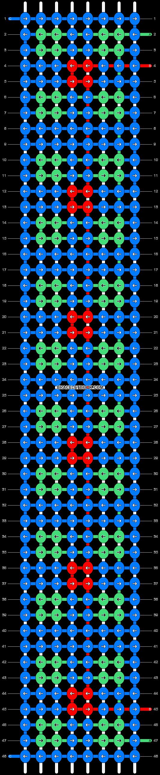 Alpha pattern #84606 pattern