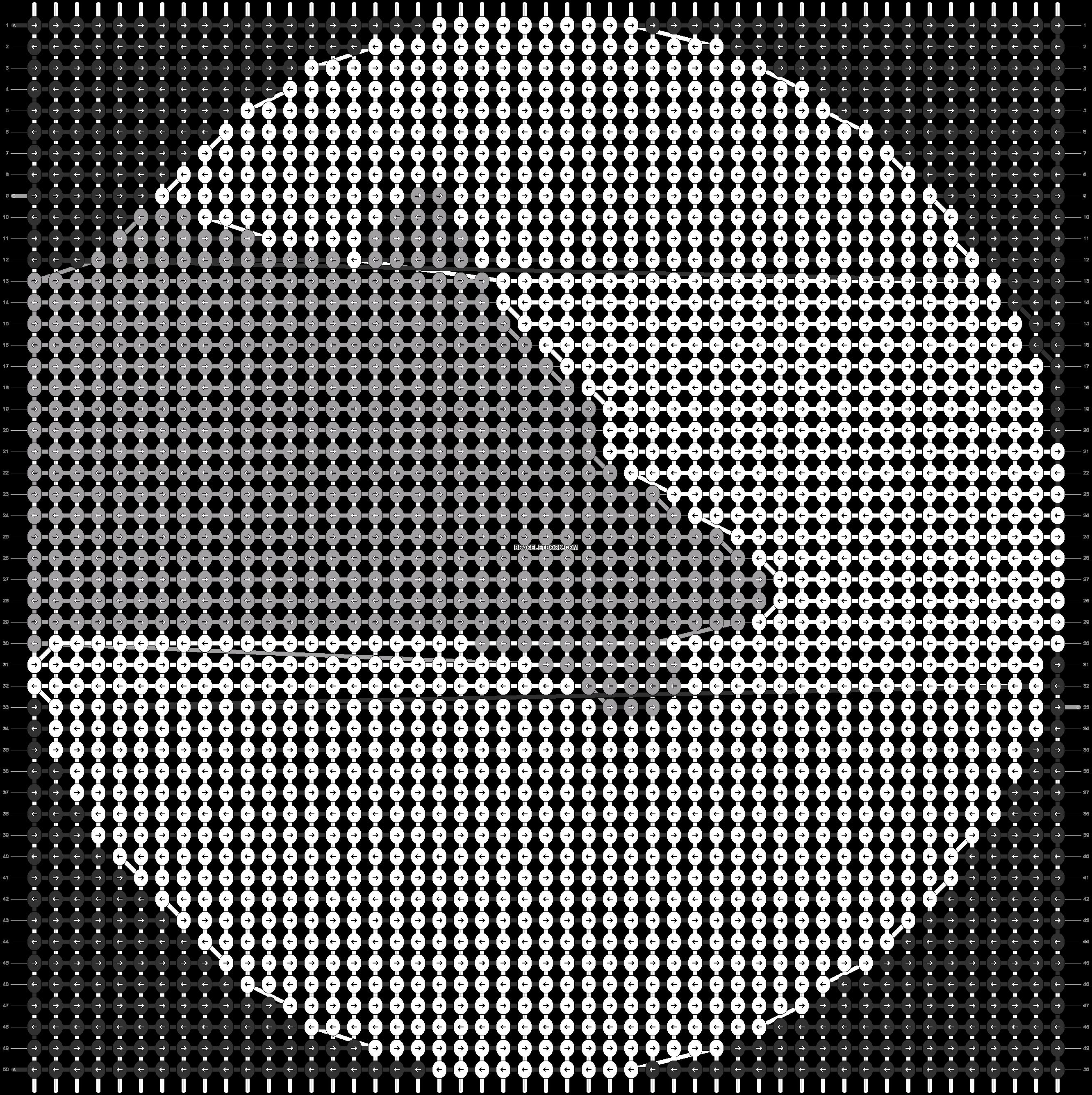 Alpha pattern #84607 pattern