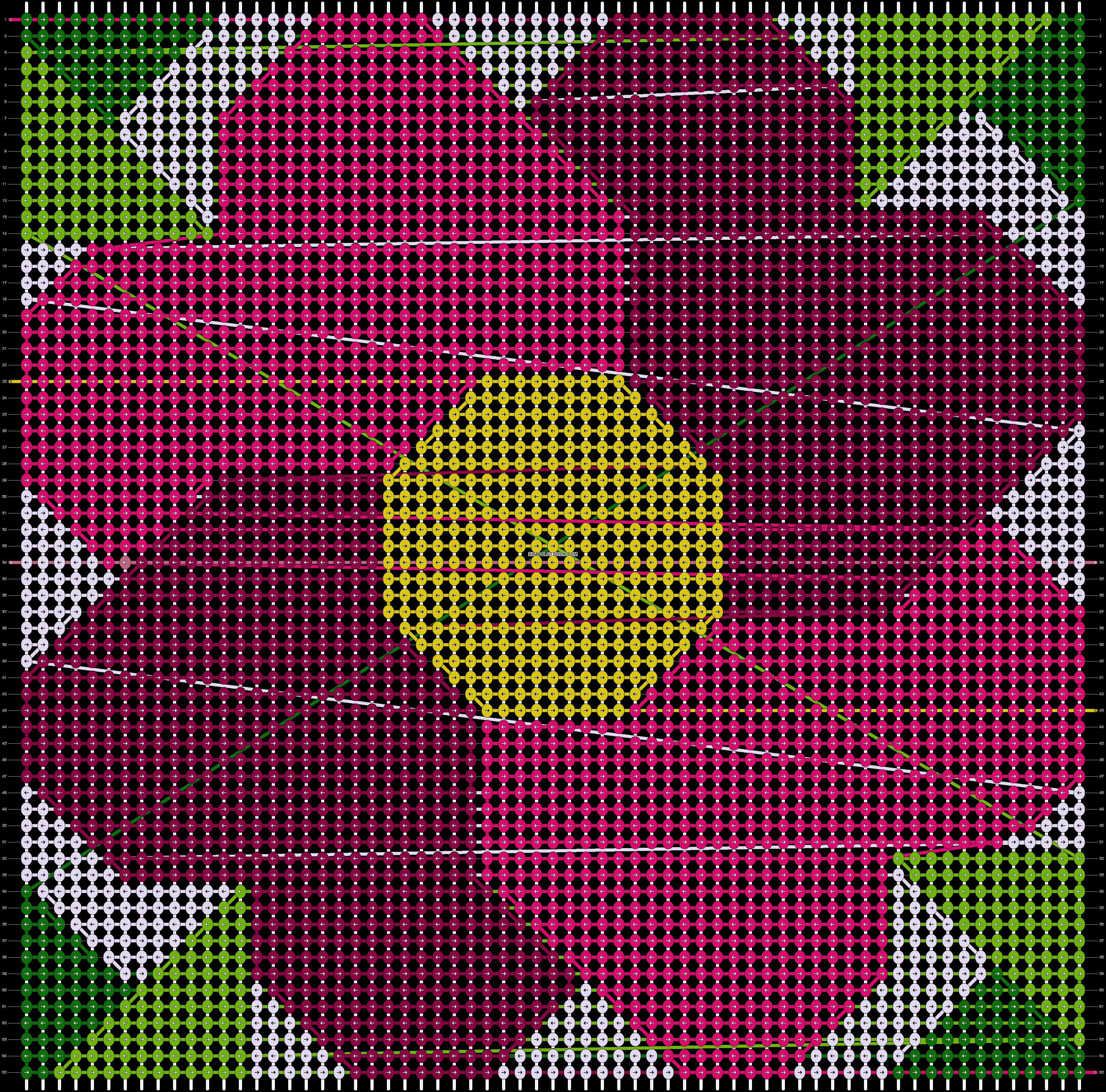 Alpha pattern #84612 pattern