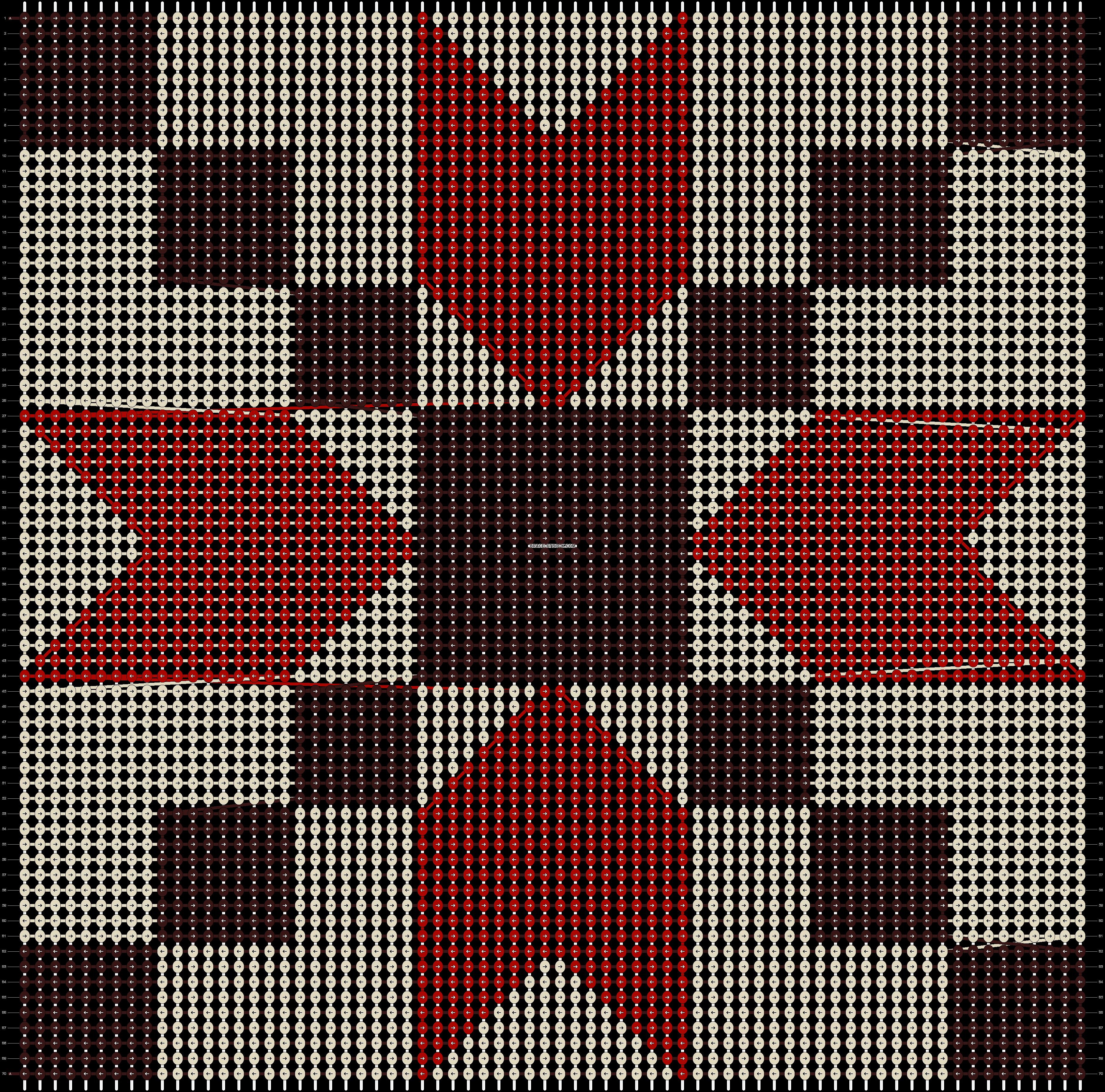 Alpha pattern #84622 pattern