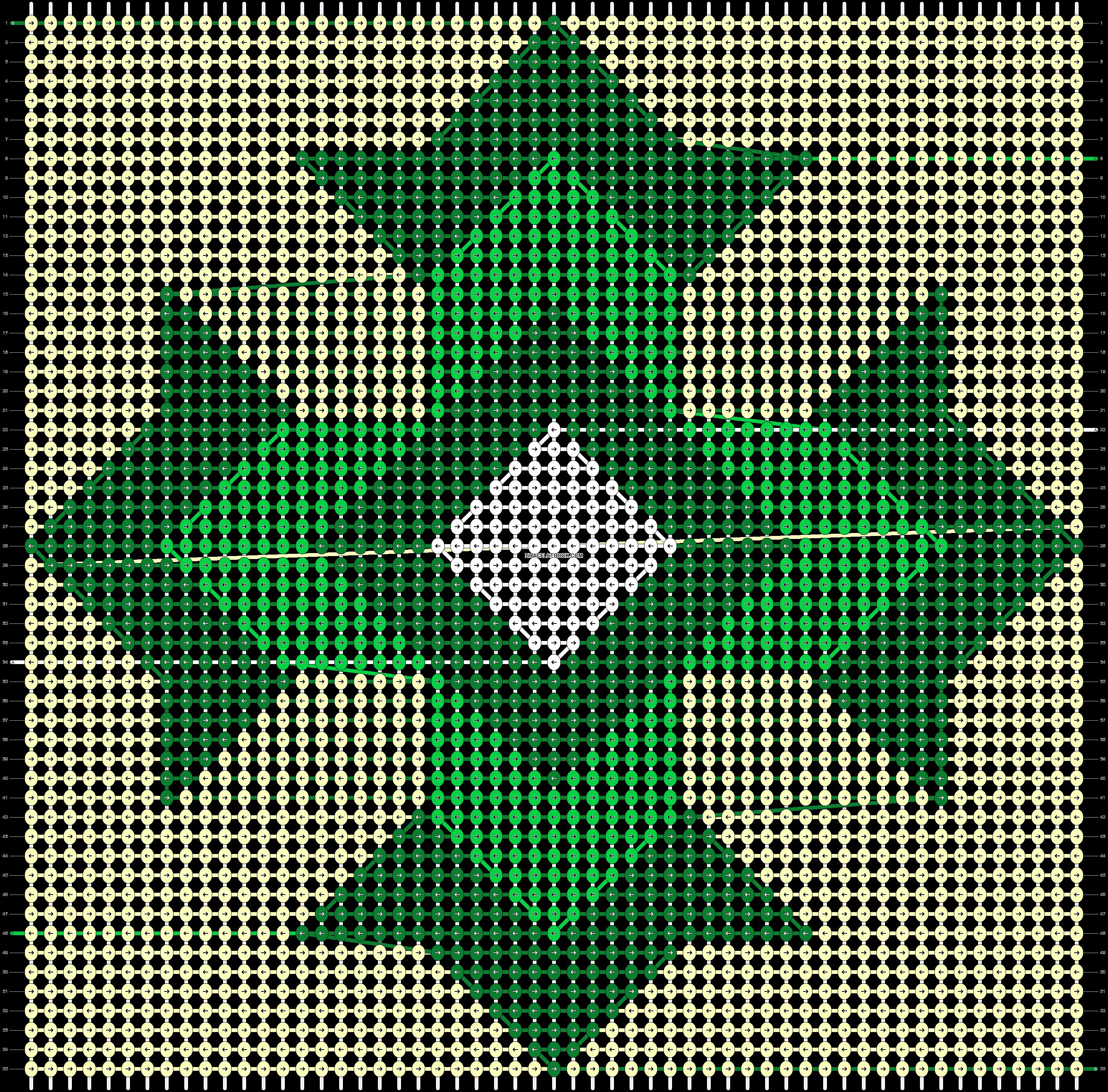 Alpha pattern #84625 pattern