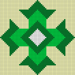 Alpha pattern #84625