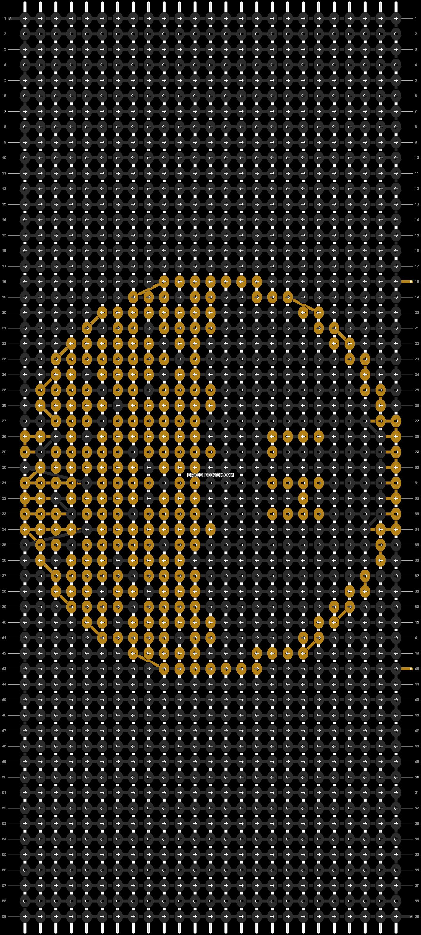 Alpha pattern #84629 pattern