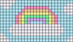 Alpha pattern #84640