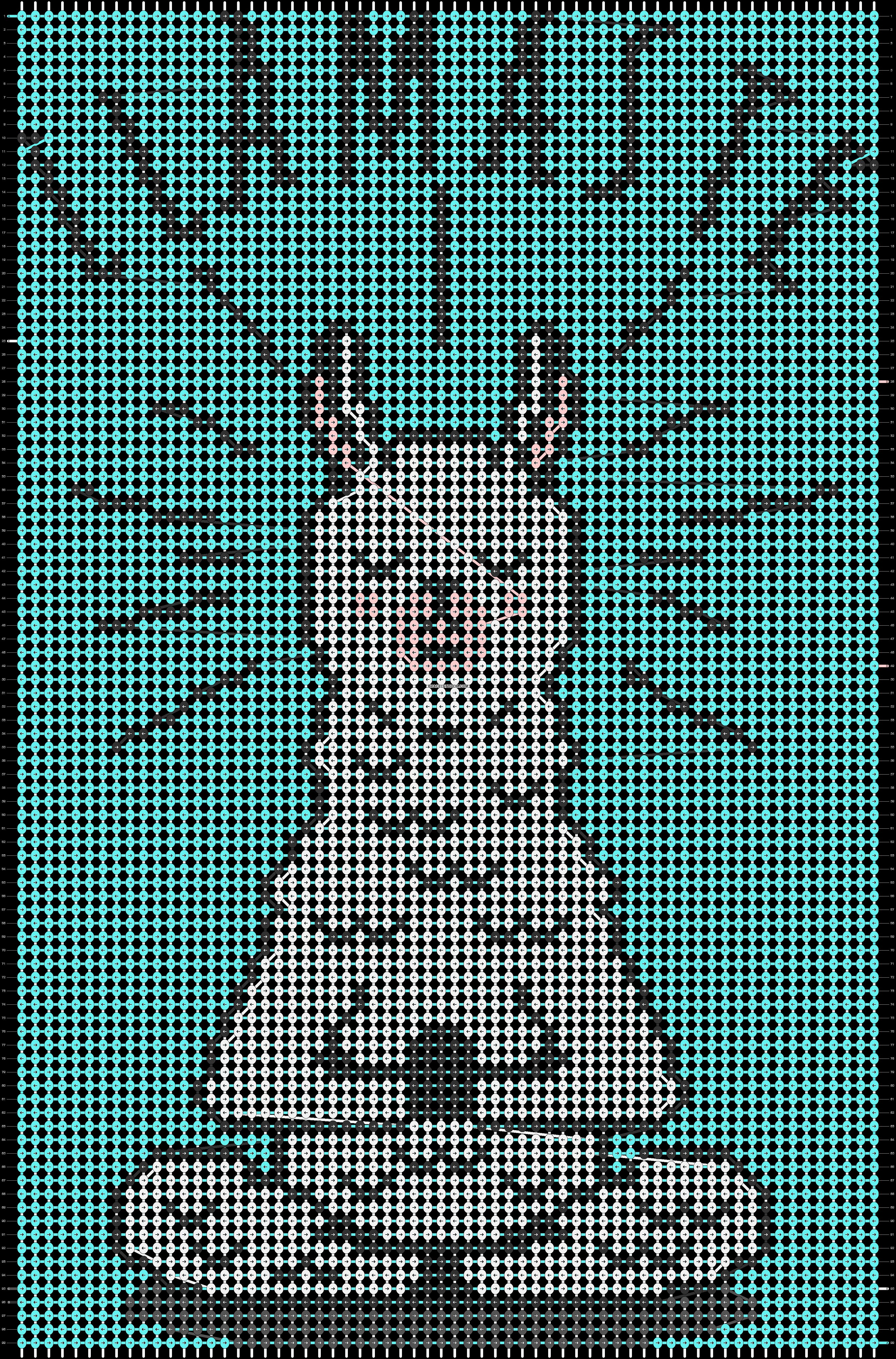 Alpha pattern #84649 pattern