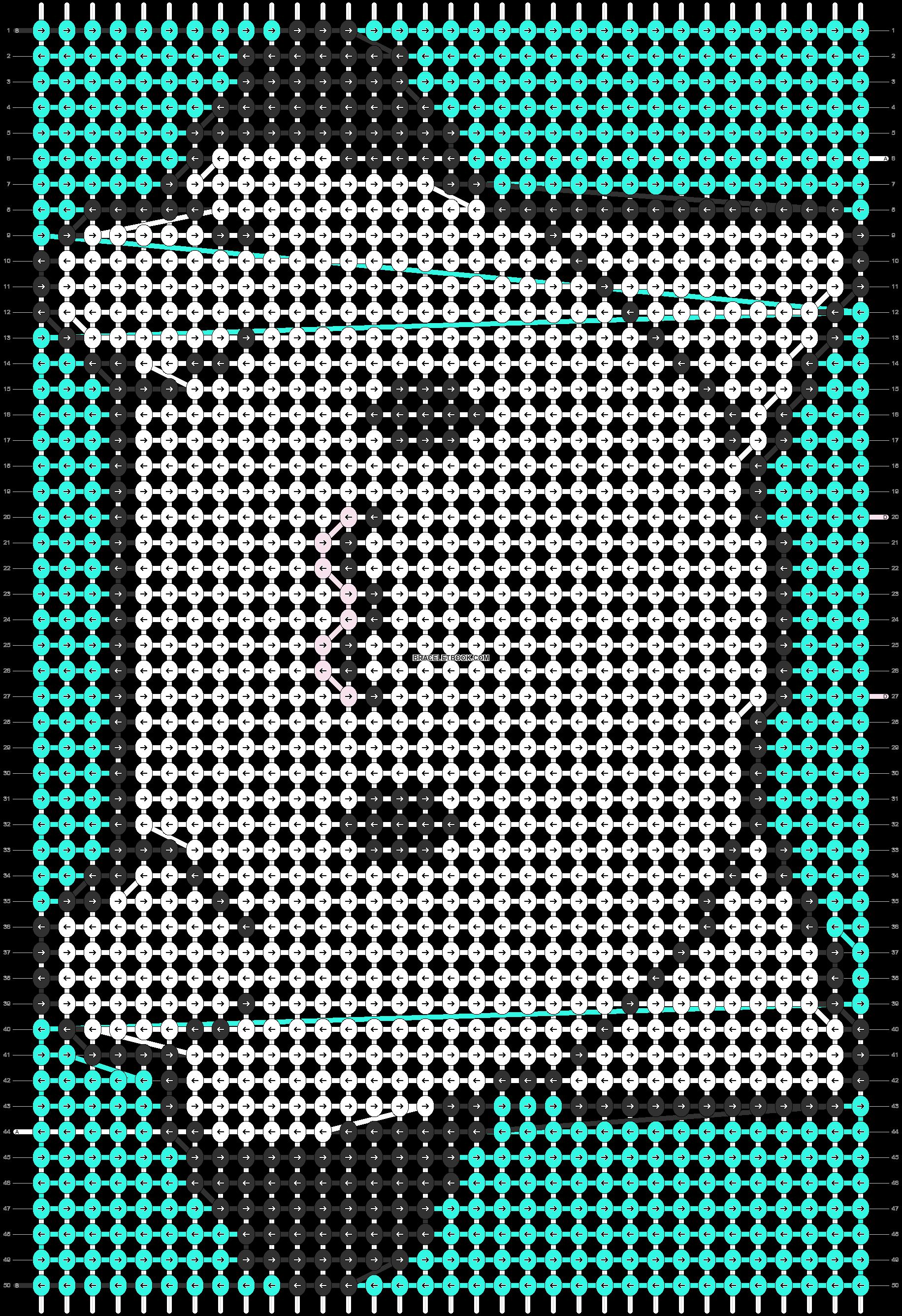 Alpha pattern #84650 pattern