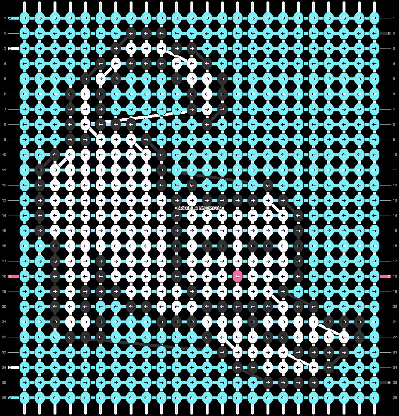 Alpha pattern #84656 pattern