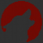 Alpha pattern #84677