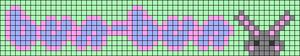 Alpha pattern #84682