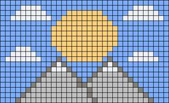 Alpha pattern #84705