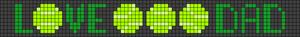Alpha pattern #84712