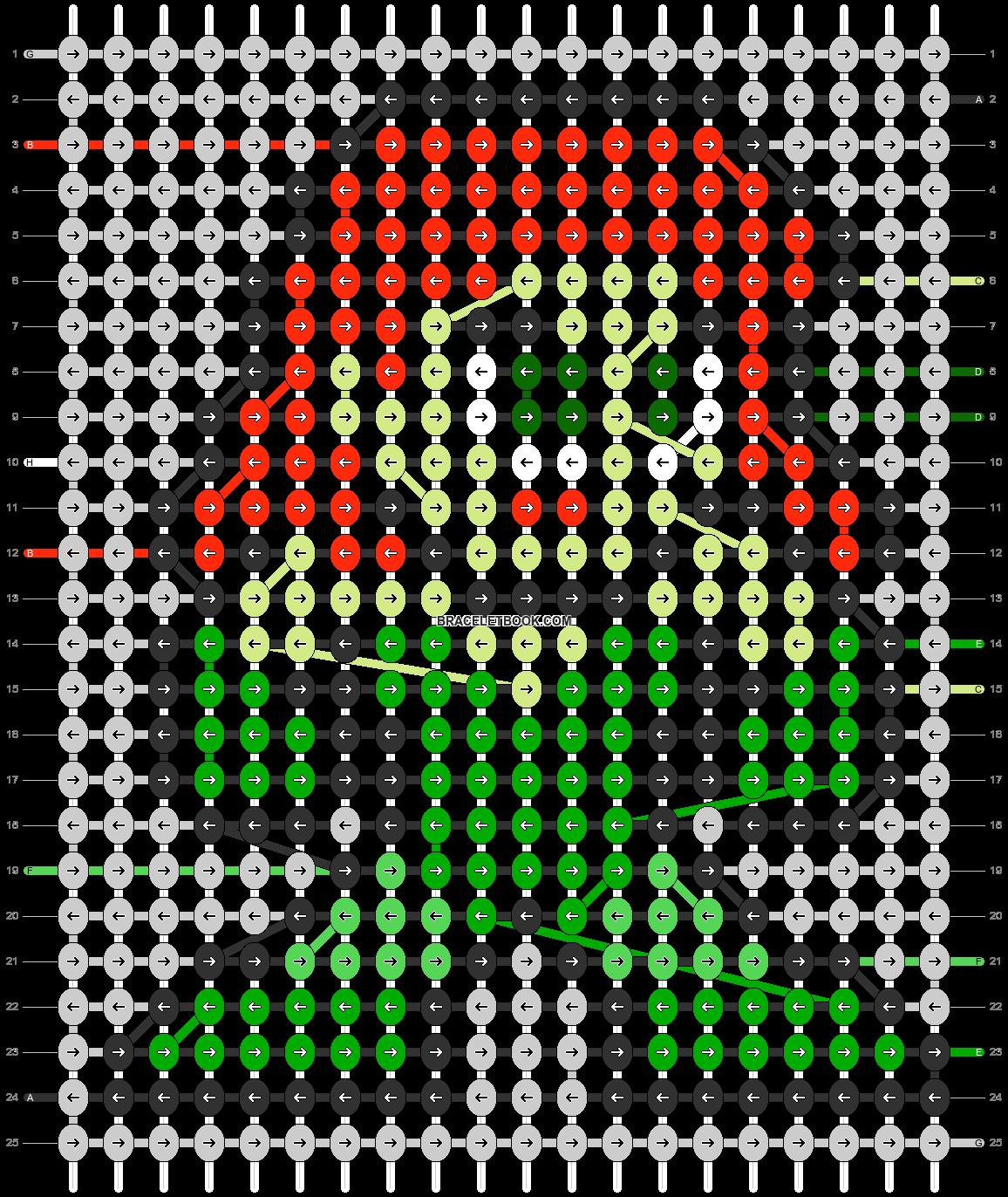 Alpha pattern #84726 pattern