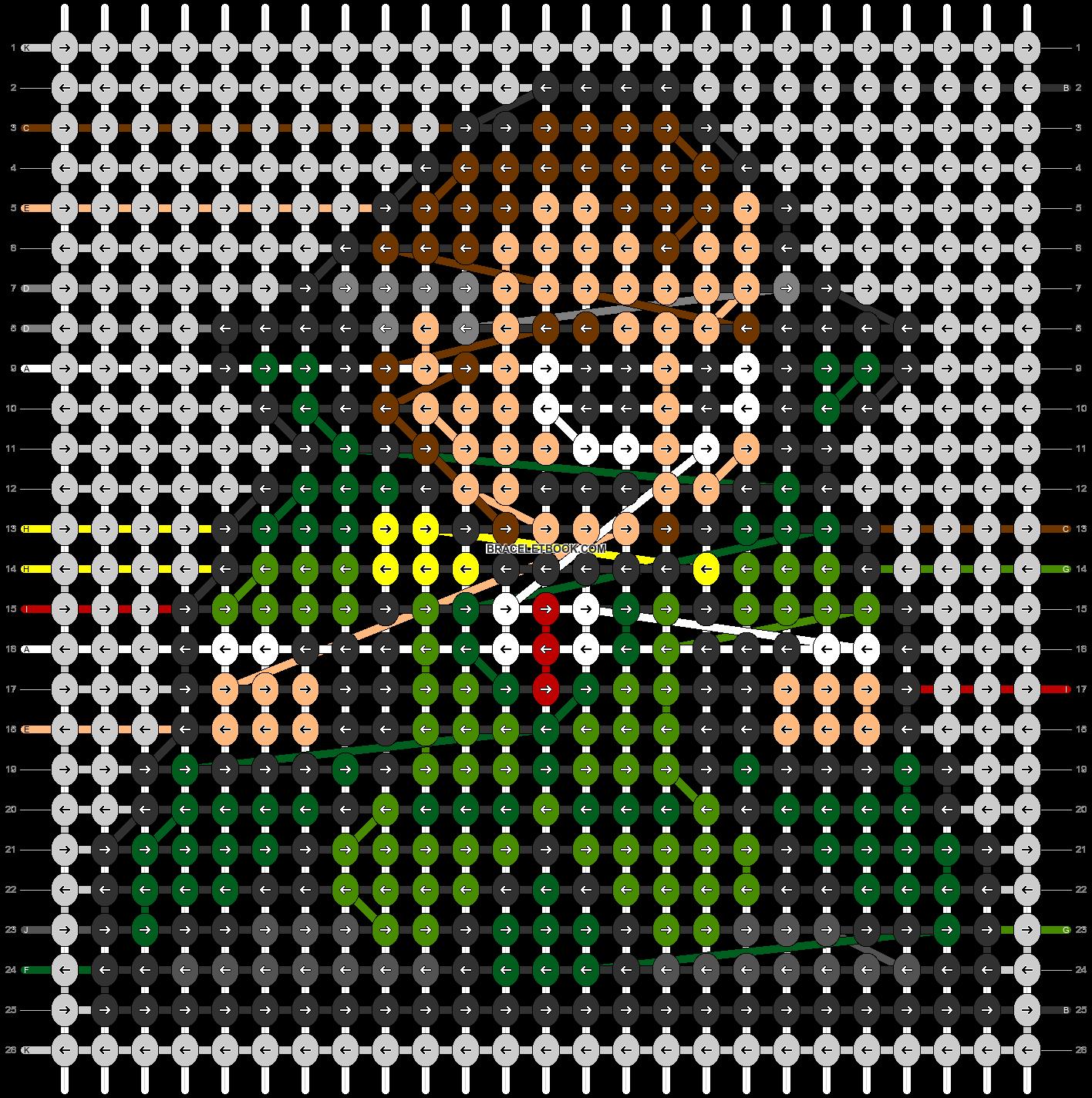 Alpha pattern #84733 pattern