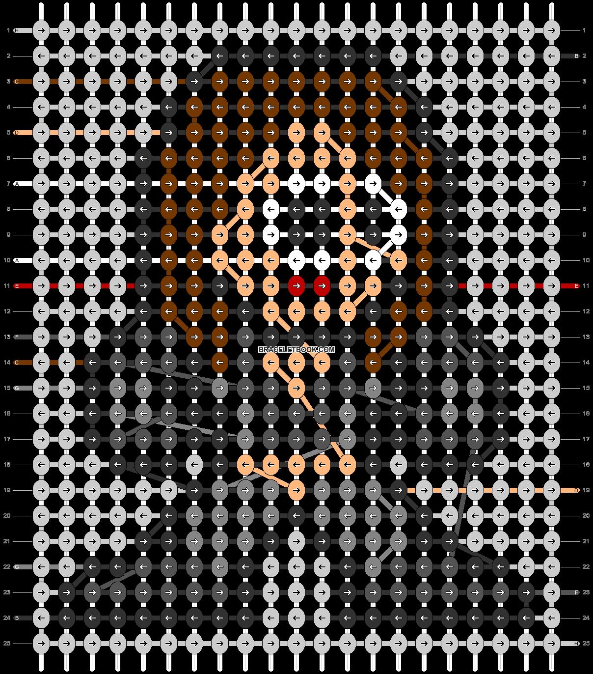 Alpha pattern #84734 pattern