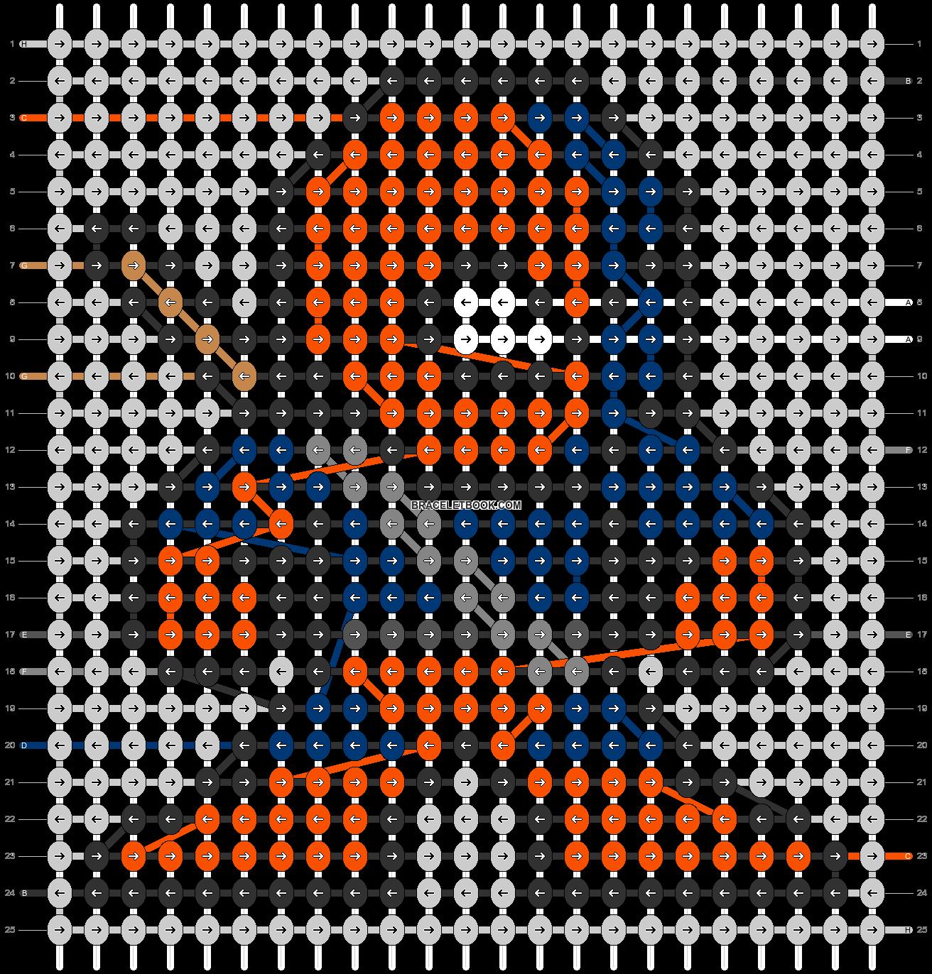 Alpha pattern #84754 pattern