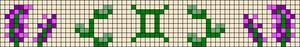 Alpha pattern #84771