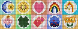 Alpha pattern #84805