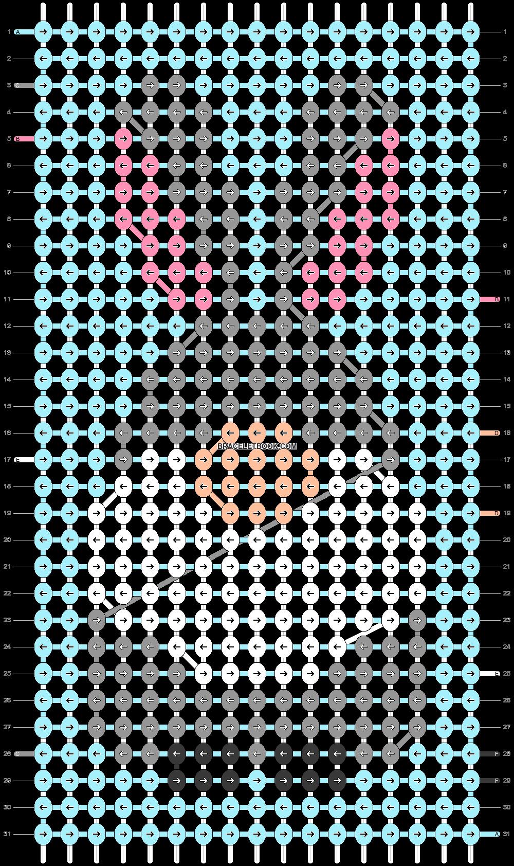 Alpha pattern #84838 pattern