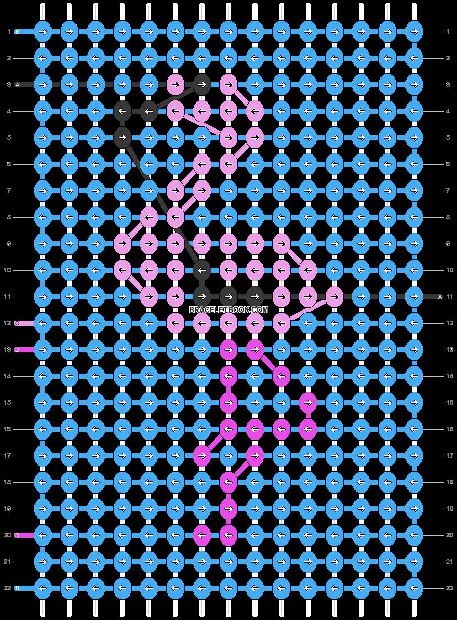 Alpha pattern #84871 pattern