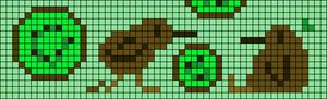 Alpha pattern #84876