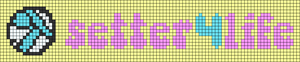 Alpha pattern #84877