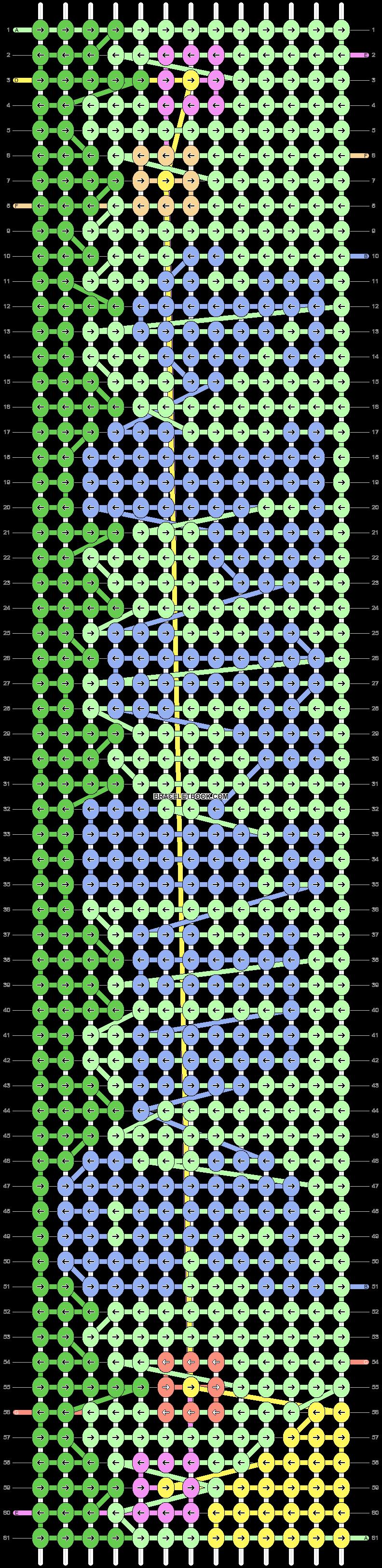 Alpha pattern #84944 pattern