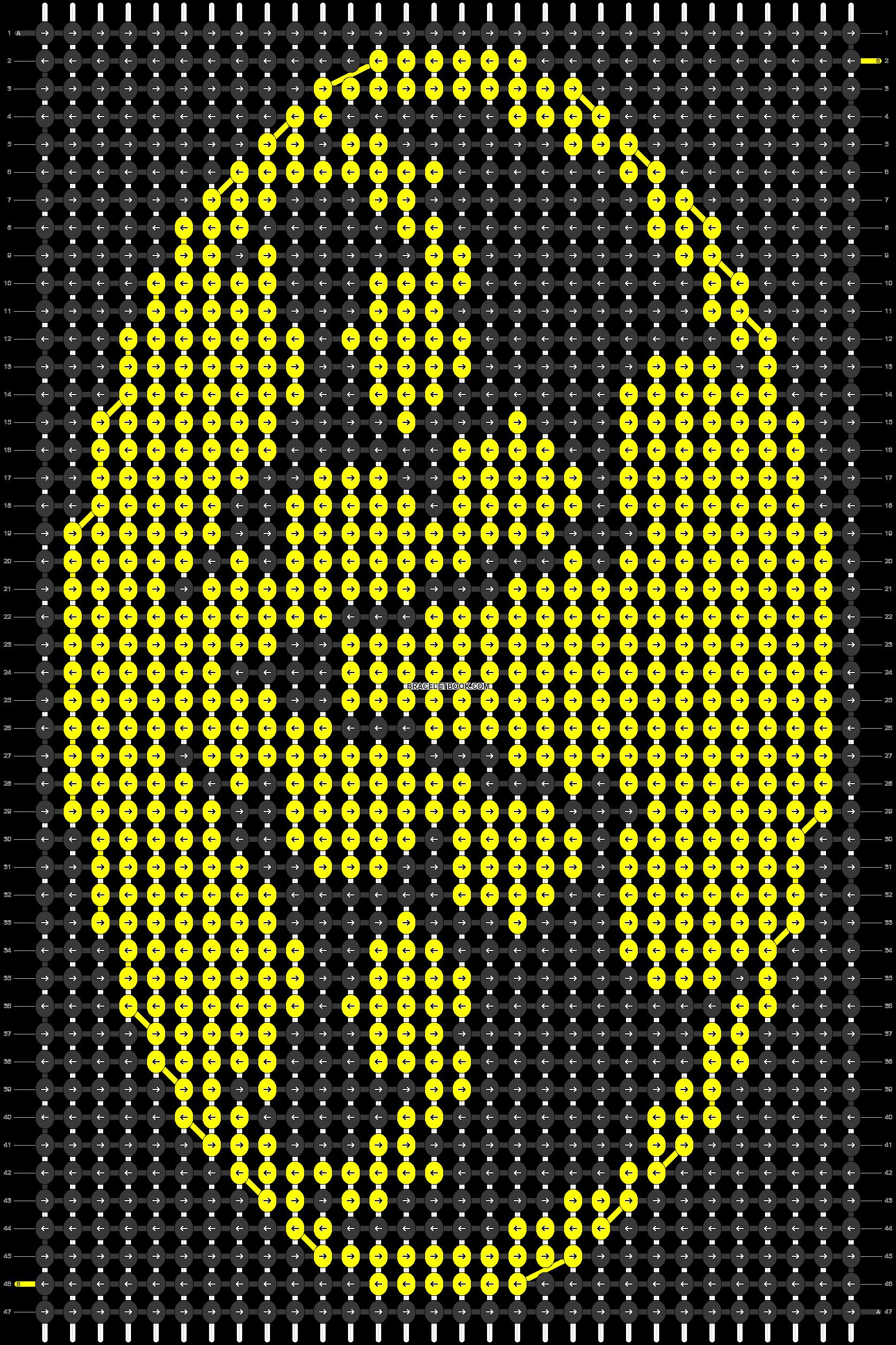 Alpha pattern #84960 pattern