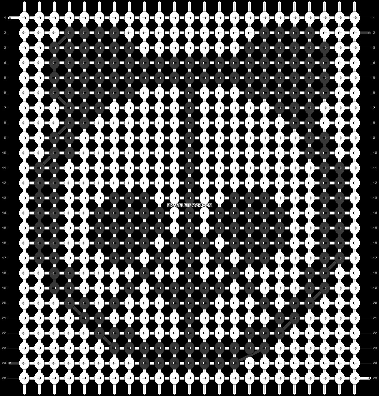 Alpha pattern #84961 pattern