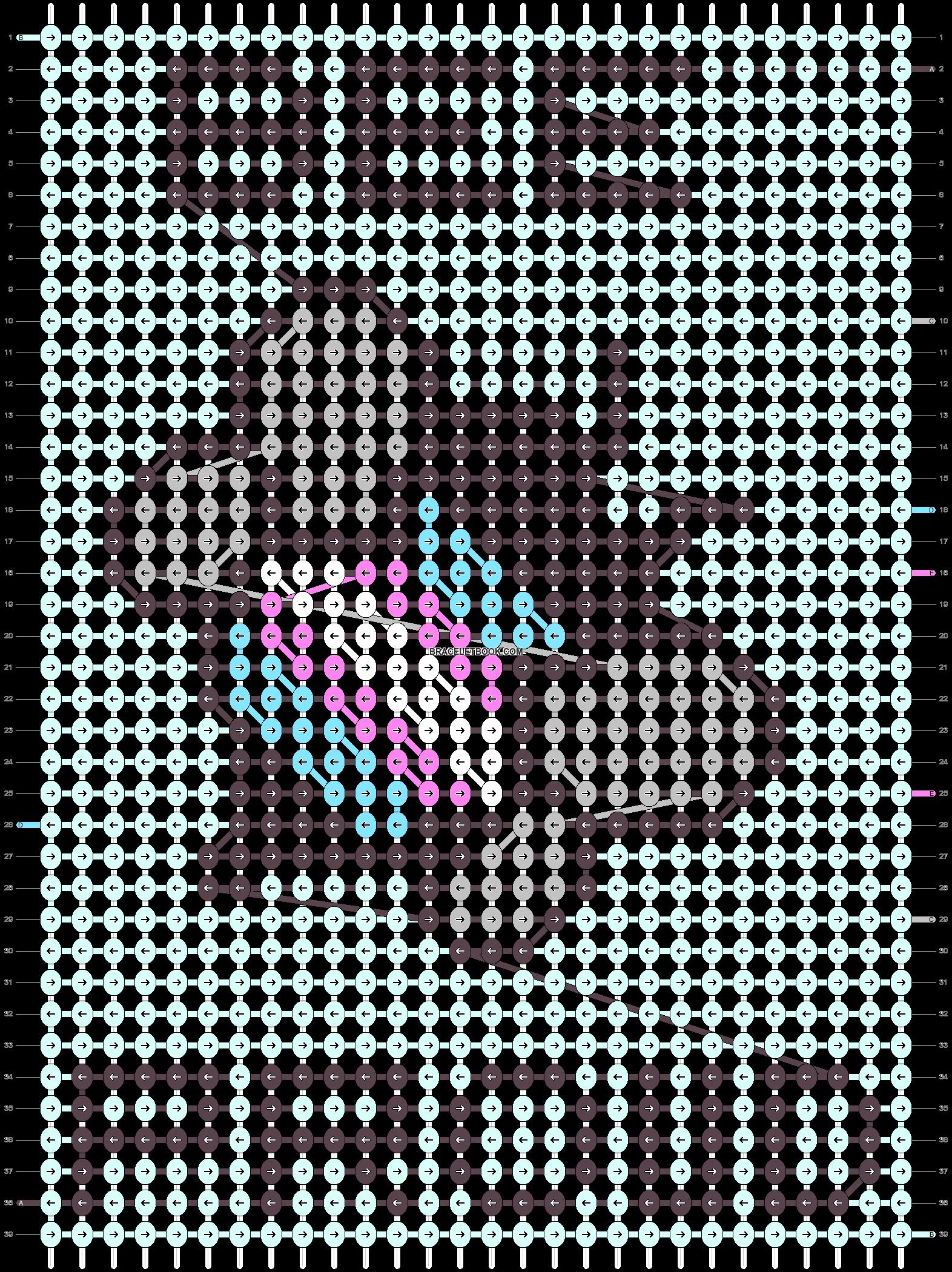 Alpha pattern #84973 pattern