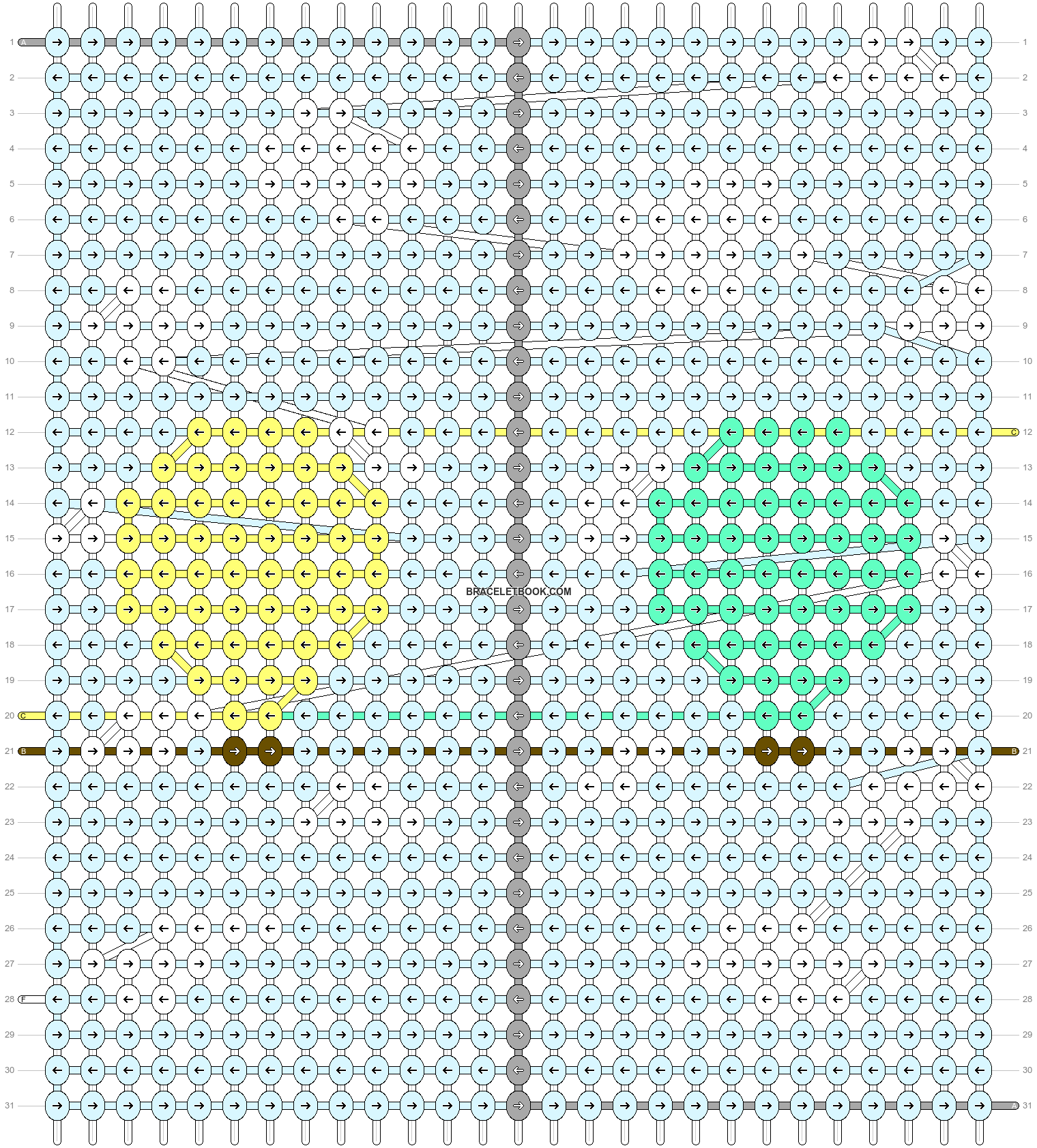 Alpha pattern #84976 pattern