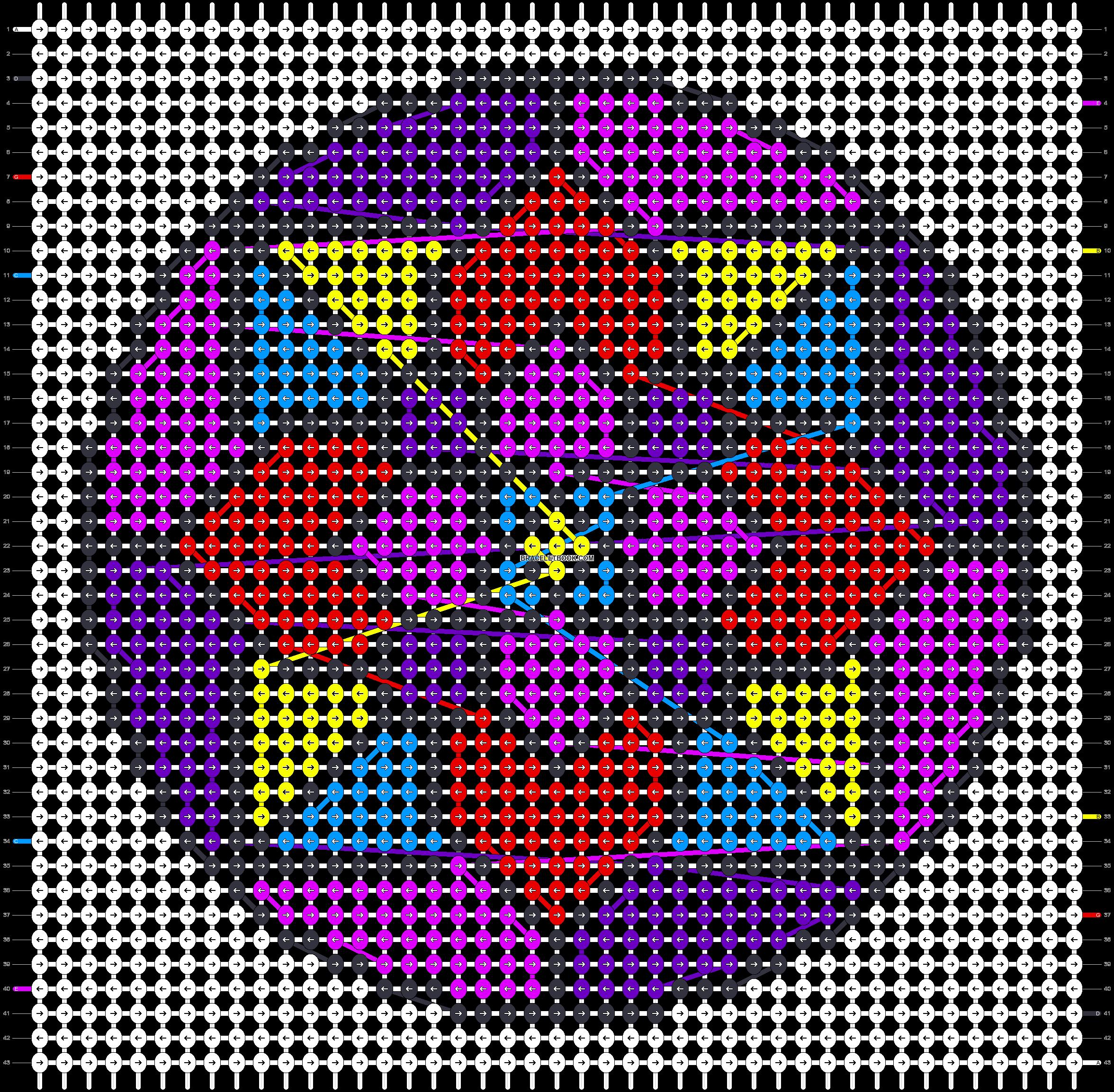 Alpha pattern #84977 pattern