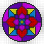 Alpha pattern #84977