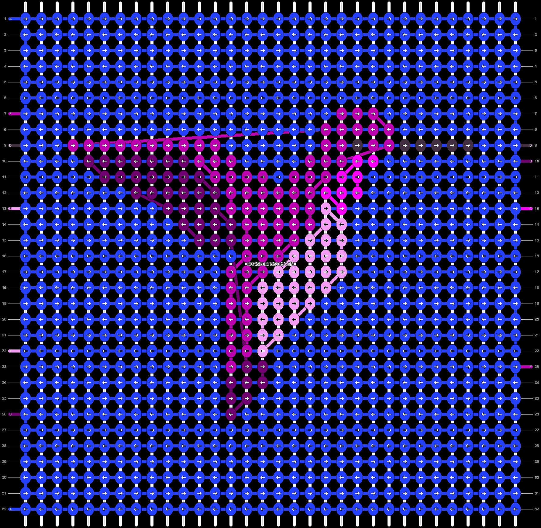 Alpha pattern #85001 pattern