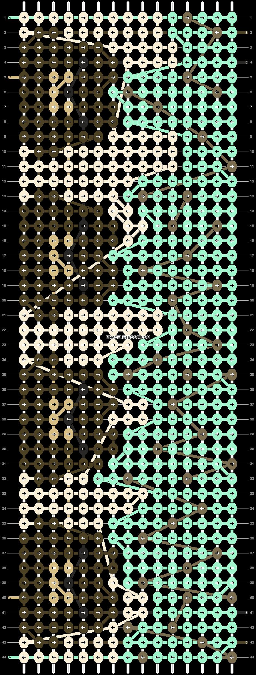 Alpha pattern #85014 pattern
