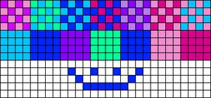 Alpha pattern #85021